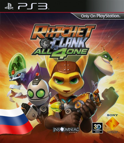 Ratchet & Clank: All 4 One [PS3]