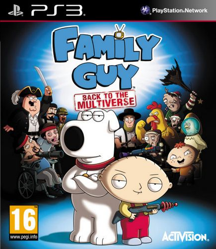 Family Guy: Back to the Multiverse [PS3]