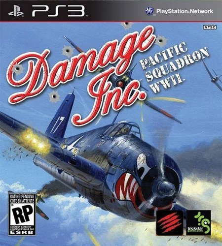 Damage Inc Pacific Squadron WWII [PS3]