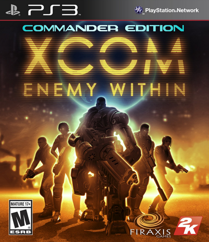 XCOM: Enemy Within - Commander Edition [PS3]