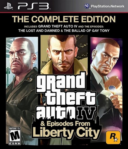 Grand Theft Auto 4: Complete Edition [PS3]