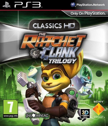 The Ratchet & Clank: Trilogy - Classics HD [PS3]