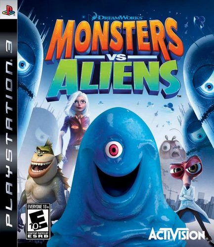 Monsters vs. Aliens [PS3]