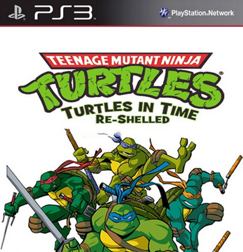 Teenage Mutant Ninja Turtles: Turtles in Time Re-Shelled [PS3]