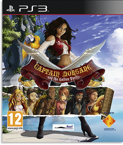 Captain Morgane and the Golden Turtle [PS3]