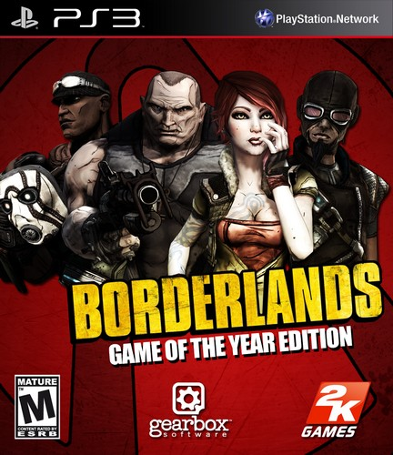 Borderlands: Game of the Year Edition [PS3]