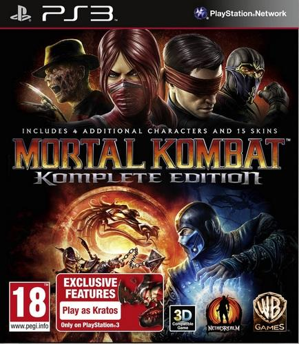 Mortal Kombat: Komplete Edition [PS3]