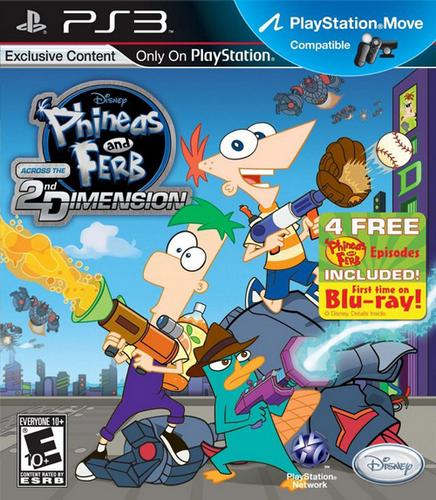 Phineas and Ferb: Across the Second Dimension [PS3]